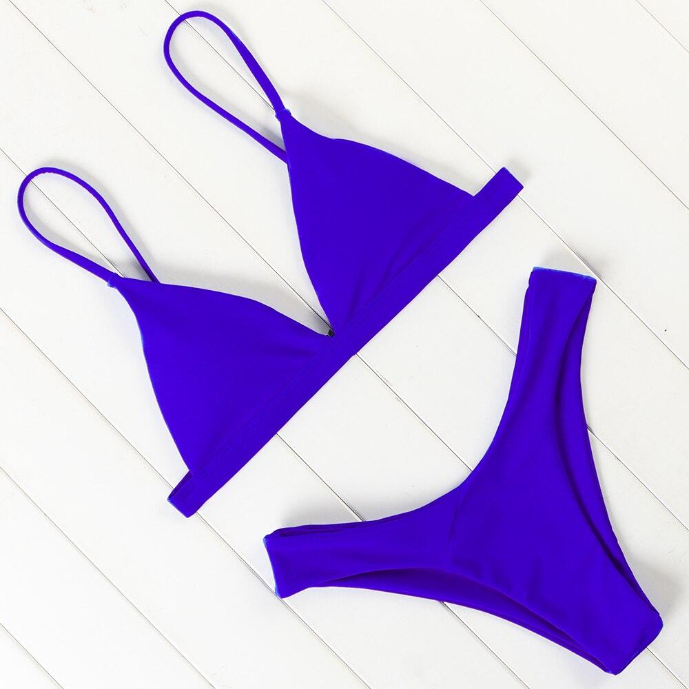 OMKAGI Bikin Swimwear Women Swimsuit Sexy Push Up Micro Bikinis Set Swimming Bathing Suit Beachwear Summer Brazilian Bikini 2021 6