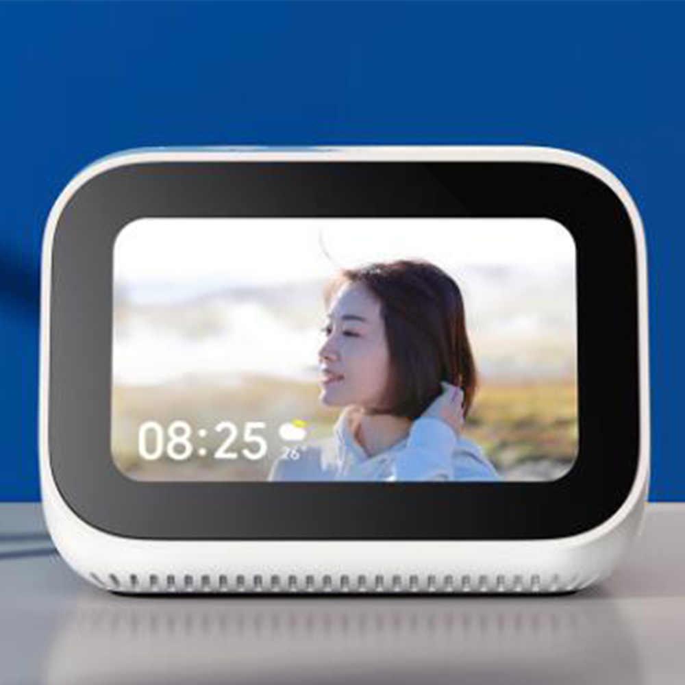 Original AI Touch Screen Bluetooth 5,0 Lautsprecher 3,97 zoll Digital Display Wecker WiFi Smart Connection Mi Lautsprecher