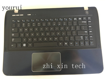 yourui Laptop keyboard  For Samsung  SF410 SF411 NP-SF410 NP-SF411 keyboard with palmrest  upper case cover