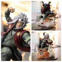 Figura de acción del Anime Shippuden Relation Jiraiya Gama-Bunta GK, estatua de PVC coleccionable, modelo de Gama Sennin, muñecos de 22CM