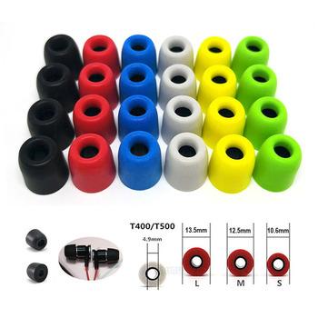 20 sztuk 10 pairs ANJIRUI T500 (L M S) 4 9mm kaliber wkładki do uszu cap memory Ear foam eartips dla w słuchawki douszne porady podkładki z gąbki tanie i dobre opinie Nauszniki L 4 9mm T500 L 4 9mm 13 5mm Tips Foam Memory Sponge Ear Pads red black blue gray