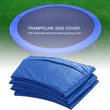 10-12 Feet PVC Round Trampoline Replacement Safety Pad Spring Cover Long Lasting Trampoline Pad Edge Protection Cover 3.05-3.66M