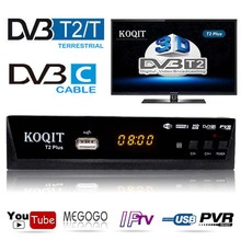 Russian Free Digital TV Box 1080P DVB-C Cable Receiver DVBT2