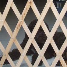 Новое высокое качество деревянная собака кошка ворота забор расширяемые ворота безопасности барьер складной ворота собака