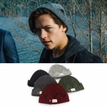 Costume Hat Cap Beanie-Prop Archie Cosplay Riverdale Winter Unisex Betty Gift Knit Christmas