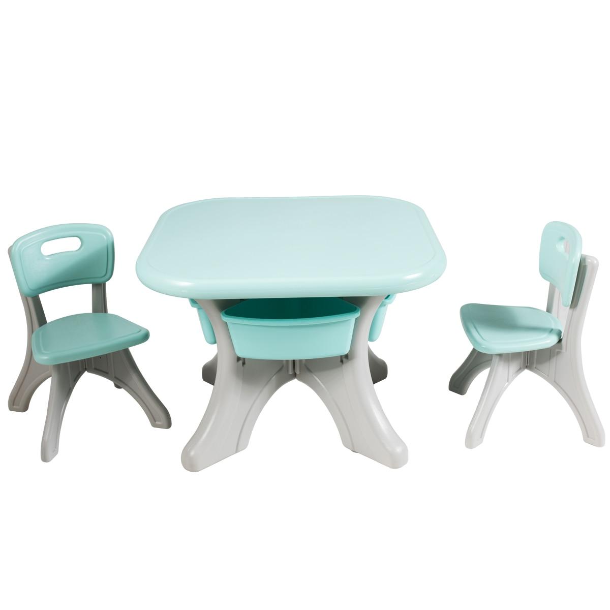 Children Kids Activity Table Chair Set Play Furniture W Storage Garden Indoor Baby Seats Sofa Aliexpress