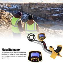Металлоискатель Высокая точность регулируемый металлический искатель с ЖК-дисплеем цифровой Интеллектуальный водонепроницаемый подземный детектор