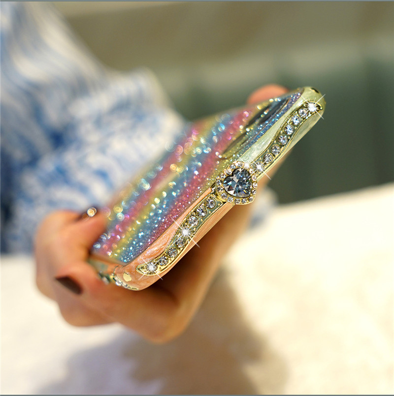 Luxury Rhinestone Phone Case for Apple iPhone 6 6S 7 8 Plus 11 Pro X XS XR XS MAX Case Glitter Crystal Diamond Cover Coque Funda