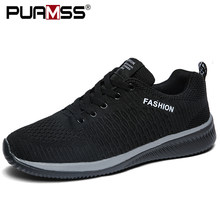 Hommes chaussures décontractées lac-up hommes chaussures léger confortable respirant marche baskets Tenis masculino Zapatillas Hombre(China)