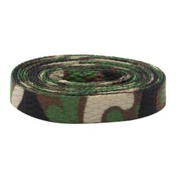 Coolstring Laces Manufacturers Digital Print Flat Camouflage Shoelaces Custom 60-180cm Camo Sports Bootlaces Printing 7mm Width