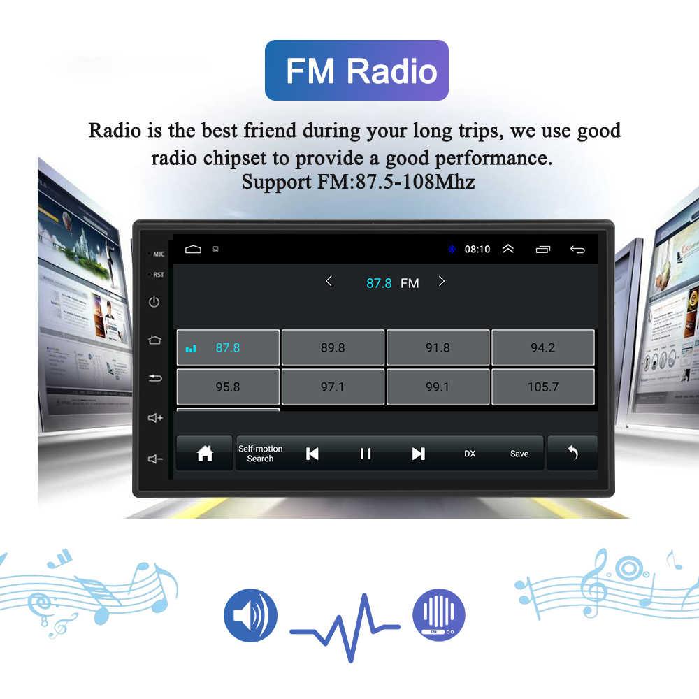 """9 """"2 din 2G + 32G Android 8.1 araba radyo multimedya Video oynatıcı navigasyon GPS WiFi 2din için hyundai Elantra HD 2006-2010 hiçbir dvd"""