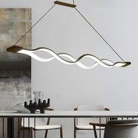 Criativo moderno LEVOU pingente luzes de suspensão suspensão de ferro Da Cozinha Acrílico lâmpada do teto para sala de jantar bar lamparas colgantes|Luzes de pendentes| |  -