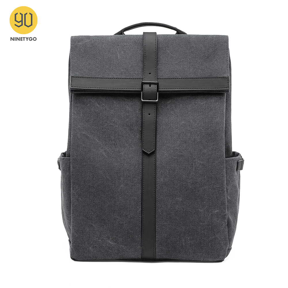 NINETYGO 90FUN Grinder Oxford Casual Backpack 15.6 Inch Laptop Bag Daypack For Men Women School Boys Girls