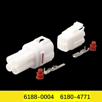 6188-0004 Freeshipping 200sets DJ7043-2-11/21 4Pin AMP Car Electrical Wire Connectors for VW,BMW,Audi,Toyota,NISSAN