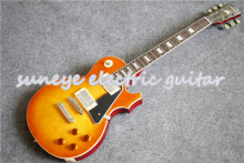 China OEM Suneye Electric Guitar Boston Sunset Fade Finish Guitarra Electrica With Black Pickguard In Stock new store opening new guitarra sg400 oem electric guitar custom shop wine red guitarra guitar china