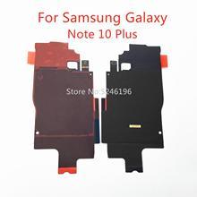 1 sztuk bezprzewodowy moduł ładowania części moduł Flex Cable do Samsung Galaxy Note 10 Plus Note10 + Plus części naprawa