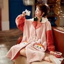 Женская пижама из кораллового флиса пижамы зимняя Пижама; Одежда
