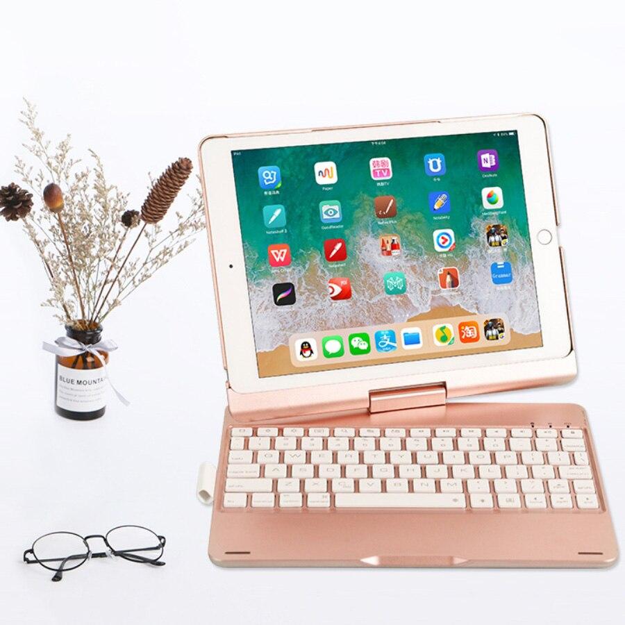 Luxus Tablet Tastatur Schützen Fall Abdeckung Business männer Tragbare Bluetooth Wireless Halter Tastatur für iPad Pro 11 APPLE IOS