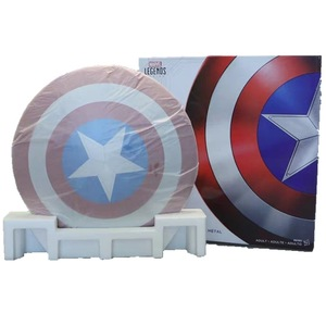 Image 5 - 75TH America Cosplay Props Adult Shield 1:1 Replica+Adjustable Strap