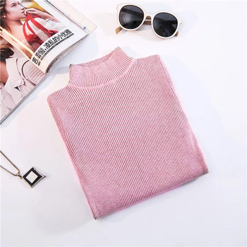 Marwin New-coming Autumn Winter Turtleneck Pullovers Sweaters Primer shirt long sleeve Short Korean Slim-fit tight sweater 21