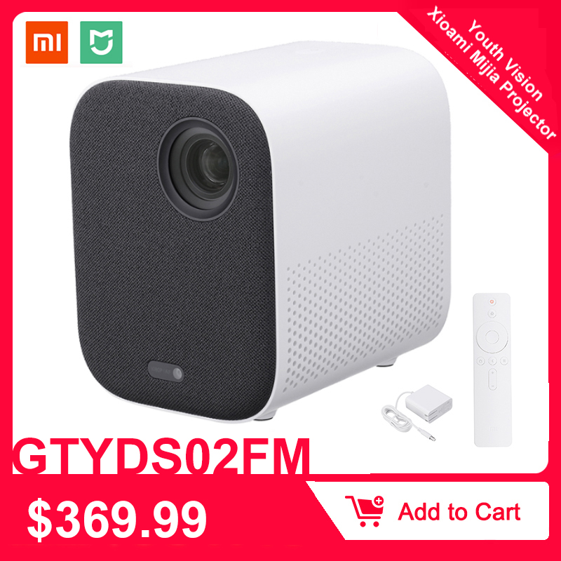 Xiaomi Mijia GTYDS02FM DLP Projector Full HD 1080P 30000 LED Life Wifi bluetooth For Phone Computer Music 3D Movie