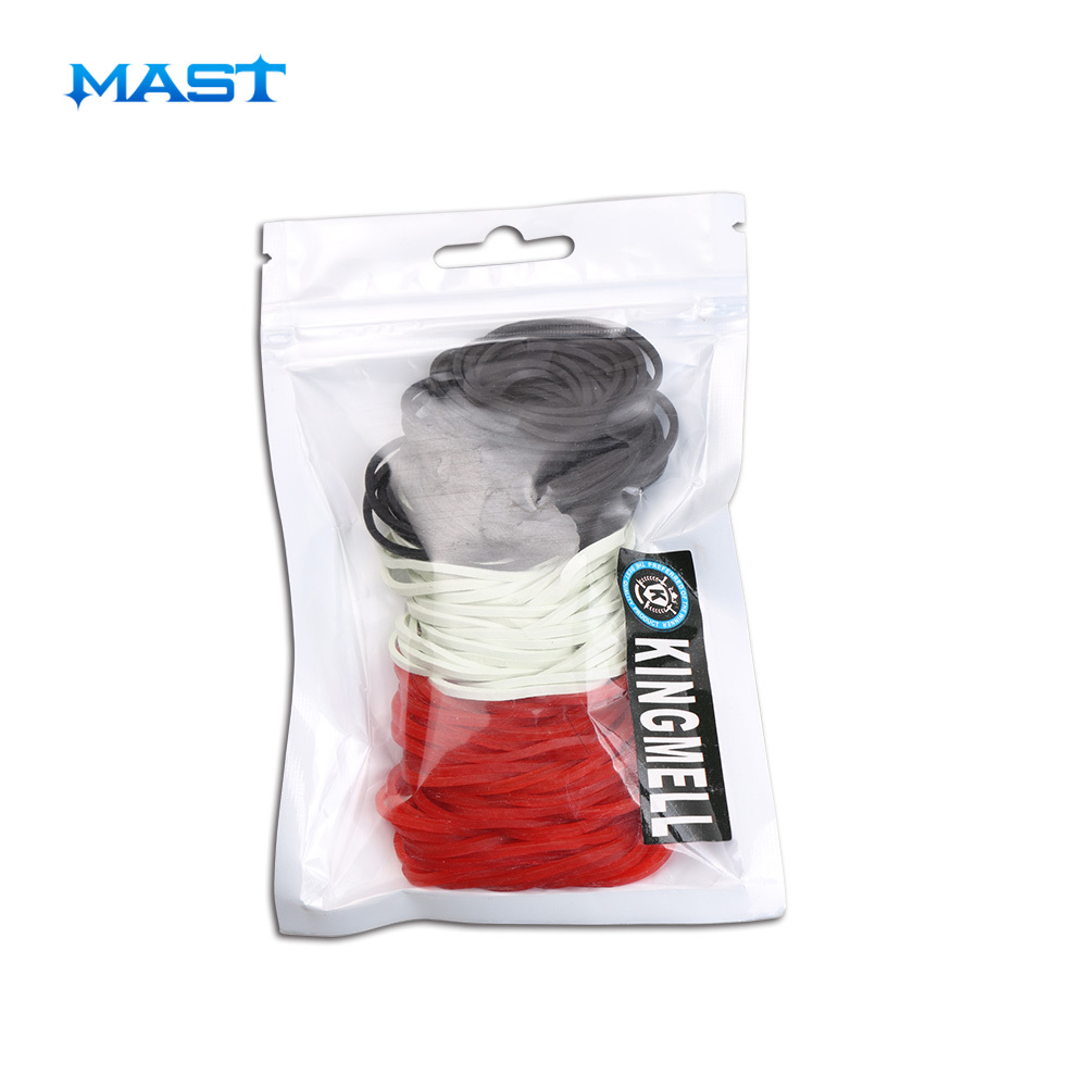 1 Package 130 Pcs Rubber Bands Tattoo Supply For Holder Needle Super Elastic Made In Malaysia For Artist