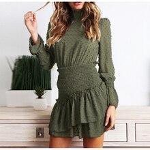 מוצק שמלות Vestido מקרית