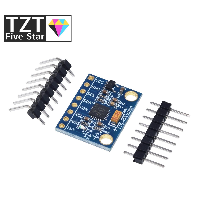 Sensors Accelerometer-Module Mpu6050-Module TZT 3-Axis GY-521 Gyro Analog