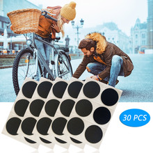Small And Convenient Round Rubber Patches For Mtb Bike Tyre Puncture Repairing 30pcs Bike Accessories Ciclismo Accesorios