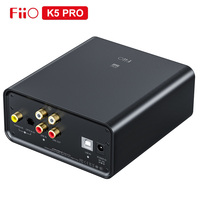 FiiO Newest K5 Pro AK4493EQ|768K/32Bit and DSD decoding Deskstop DAC and Amplifier for Home and Computer