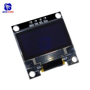 "Image 3 - Diymore 0.96 ""12864 SSD1306 OLED LCD Display Modul I2C IIC Serien mit Pin für Arduino 51 MSP430 Serie STM32/2 CSR IC"