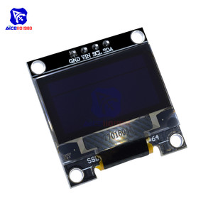 """Image 3 - diymore 0.96"""" 12864 SSD1306 OLED LCD Display Module I2C IIC Serial with Pin for Arduino 51 MSP430 Series STM32/2 CSR IC"""