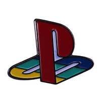 Playstation spiel revers pin helle kleidung rucksack icons dekoration großes kleines geschenk für freund