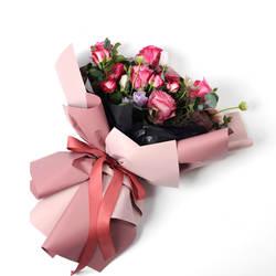 Новый день влюбленных продуктов Новый глаз очарование Тан цветной бумаги Hansel тусклый лак мягкий легкий Dacal бумага Цветок Упаковка