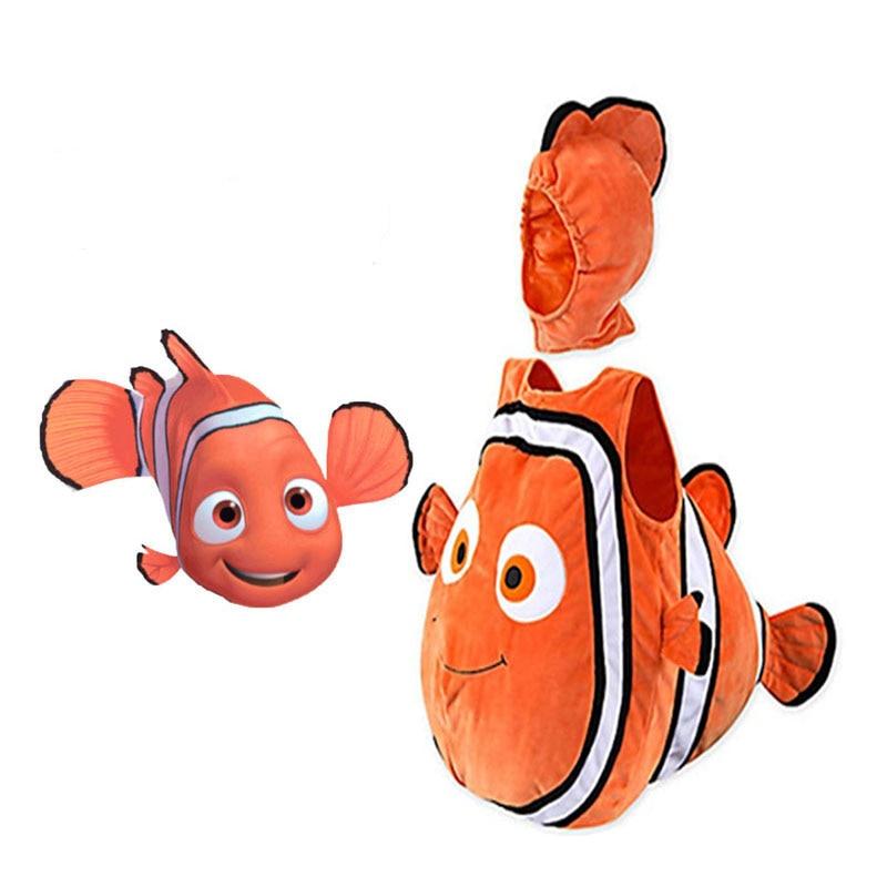 Looking For The Nemo Clown Fish Cosplay Costume Pixar Animation Movie Nemo Baby Kids Halloween Christmas Party Kids