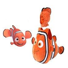 تأثيري أنيمي clownfish موني لطيف الأطفال تأثيري حلي هالوين عيد الميلاد الطفل مزيج اللعب زي