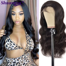 Brazilian Body Wave Human Hair Wig Miss Cara Remy Hair 180% Denstiy Lace Front Human Hair Wig Longer Transparnt Lace T Part Wig