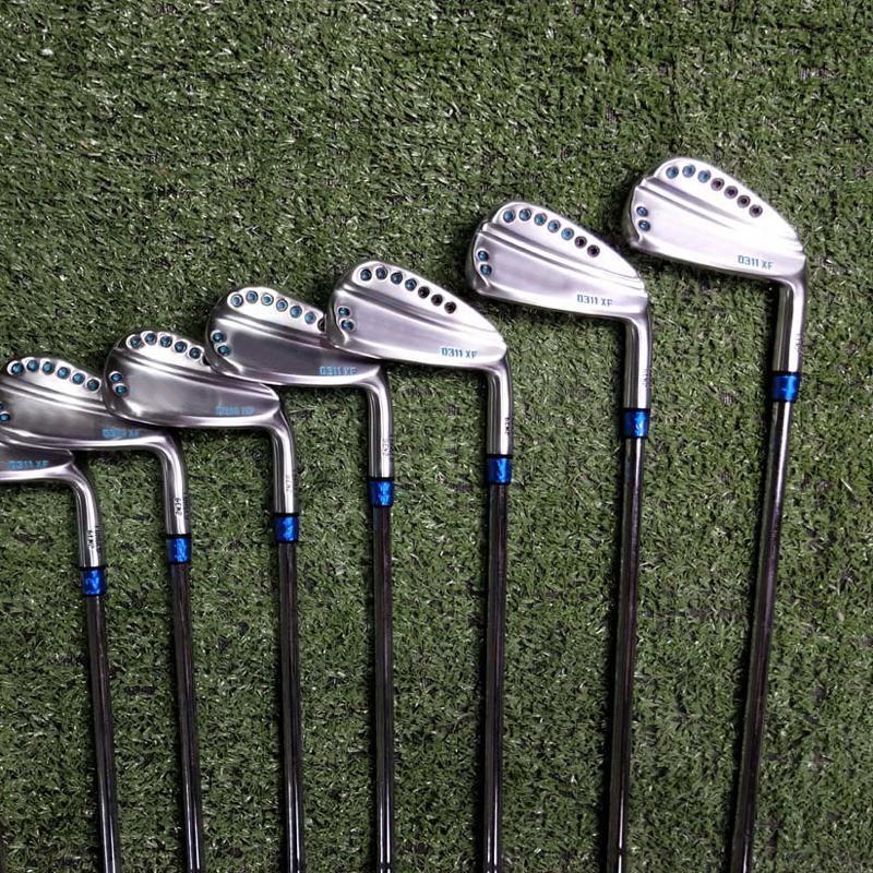 Golf Clubs 0311 XF GEN2 Irons Blue Golf Forged Iron 3-9WG A Set Of 9 Pieces R / S Send Headcover Free Shiping