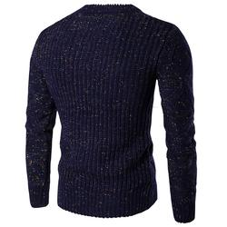 Men Causal Round Neck Sweater Autumn Winter Pullover Knitted Sweaters