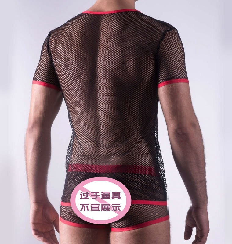<font><b>Men</b></font> <font><b>Sexy</b></font> Mesh <font><b>Lingerie</b></font> <font><b>Sexy</b></font> nightclub <font><b>men</b></font> dancer Costume Hot Erotic <font><b>Sexy</b></font> Slim Fit Cosplay Costume Sets <font><b>Men</b></font> Halloween Costume image