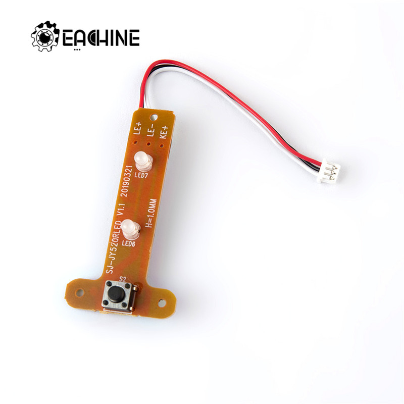 1Pcs <font><b>Eachine</b></font> E520 <font><b>E520S</b></font> WiFi FPV RC Drone Quadcopter Spare Parts Pow er Switch Module with Light Board image
