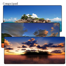 Congsipad 900*400MM Cloud Scenery Mouse Pad Large Pad Laptop Mouse Notb