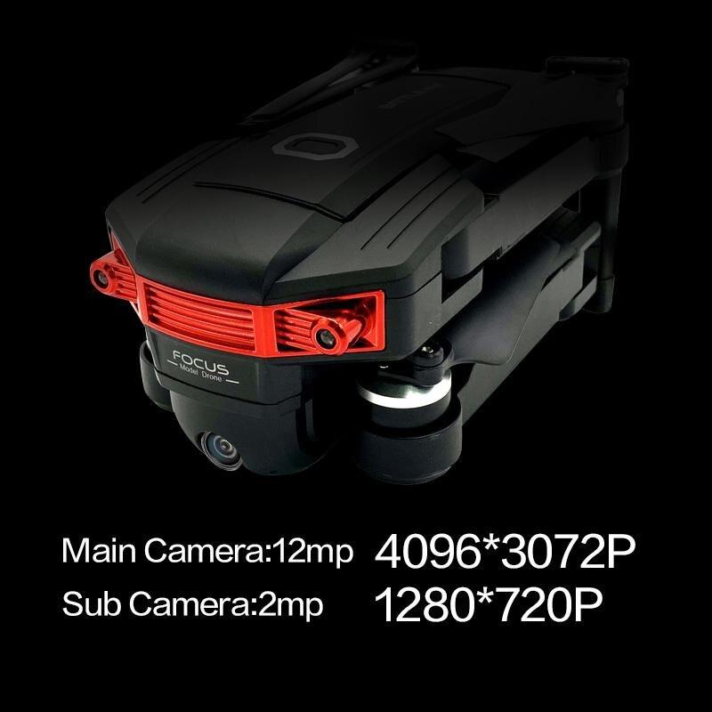 Дрон 4k HD 1080P wifi fpv низкая батарея самовозвратный бесщеточный двигатель оптический поток hover Квадрокоптер Дрон камера Дрон GPS квадрокоптер с к... - 4