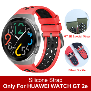 Official Style Soft silicone Band for HUAWEI WATCH GT 2e Strap Correa Wristband for HUAWEI GT2E Special Straps Watchband ремешок