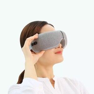 Image 2 - Youpin Momoda 5V 5W 3Modes Rechargeable Folding Eye Massager Graphene Thermostatic Heating Kneading Bluetooth Smart Eye Mask