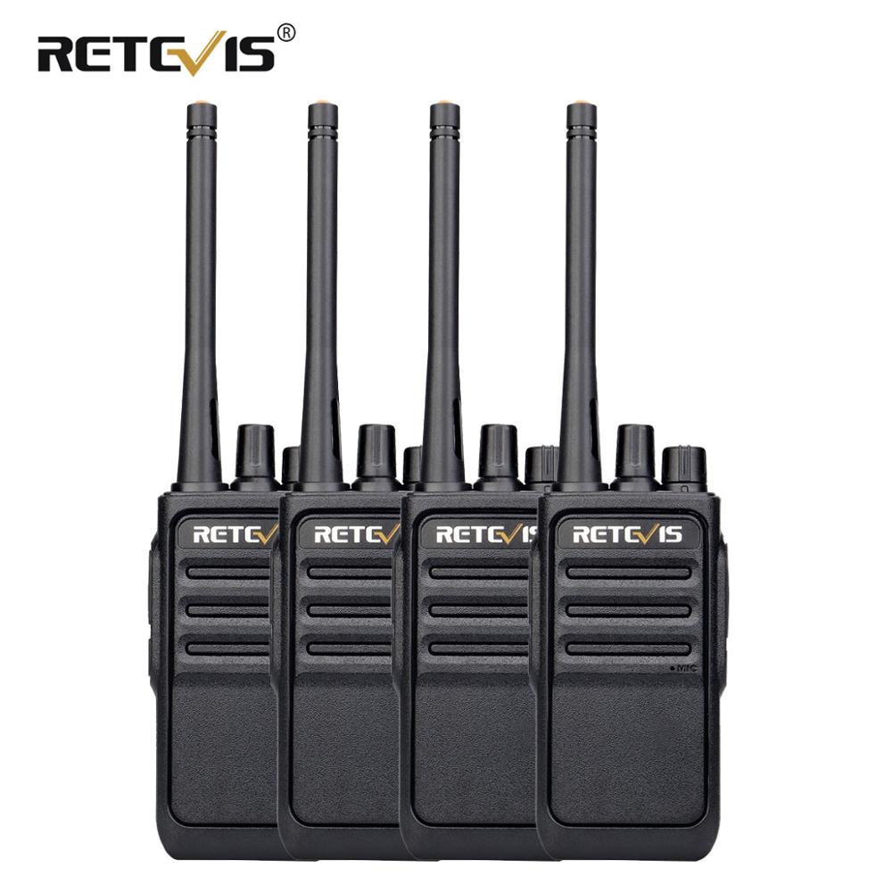 Retevis RT617/RT17 Walkie Talkies 4Pcs PMR Radio PMR446/FRS Two-Way Radio VOX USB Charging Radio Station Comunicador Transceiver