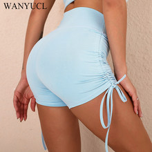 WANYUCL Sexy Women's Sports High Waist Shorts Athletic Gym Workout Fitness Yoga Leggings Briefs Athletic Breathable Shorts