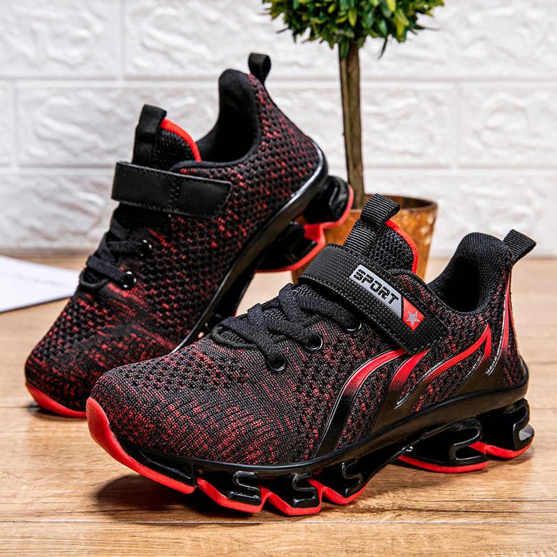 Çocuklar Sneakers koşu ayakkabıları çocuk ayakkabı erkek kız sepet ayakkabı yaz Tenis Infantil bıçak alt çocuk ayakkabıları