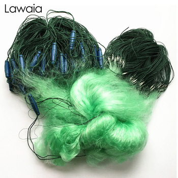 Lawaia Fishing Net 2m Deep 100m Long Three-layer Large Floating Sticky Plastic Fish Tail Hand Throw
