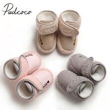 Г. Теплые зимние сапоги для малышей от 0 до 18 месяцев, зимние сапоги в стиле пэчворк для новорожденных мальчиков и девочек однотонная обувь из хлопка с мягкой подошвой